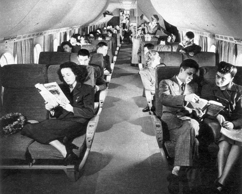 The Stratocruiser Goes To Work